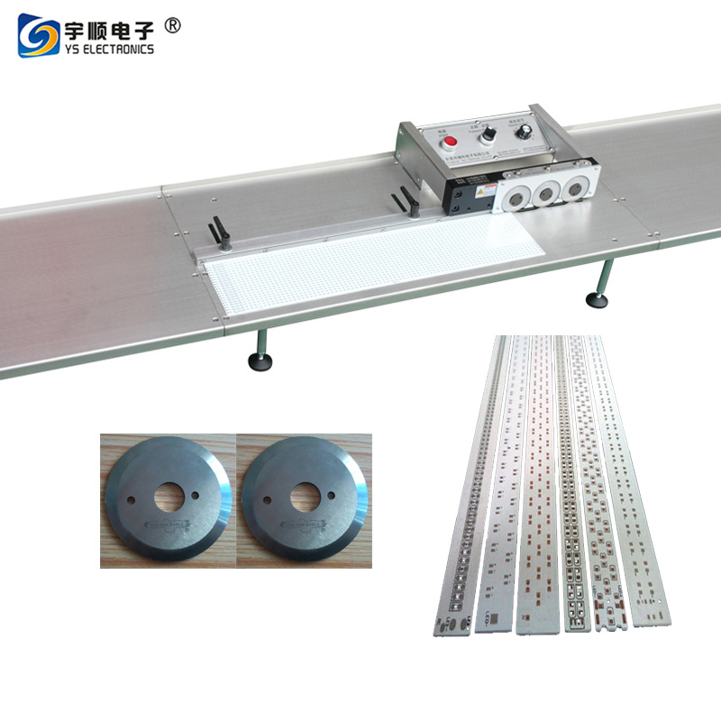 LED strip pcb cutting machine with multi blades,Buy Multi Blades Depaneling,Pcb Boards Depaneling,Led Pcb Cutting Machine Product on pcbcuttingmachine.com