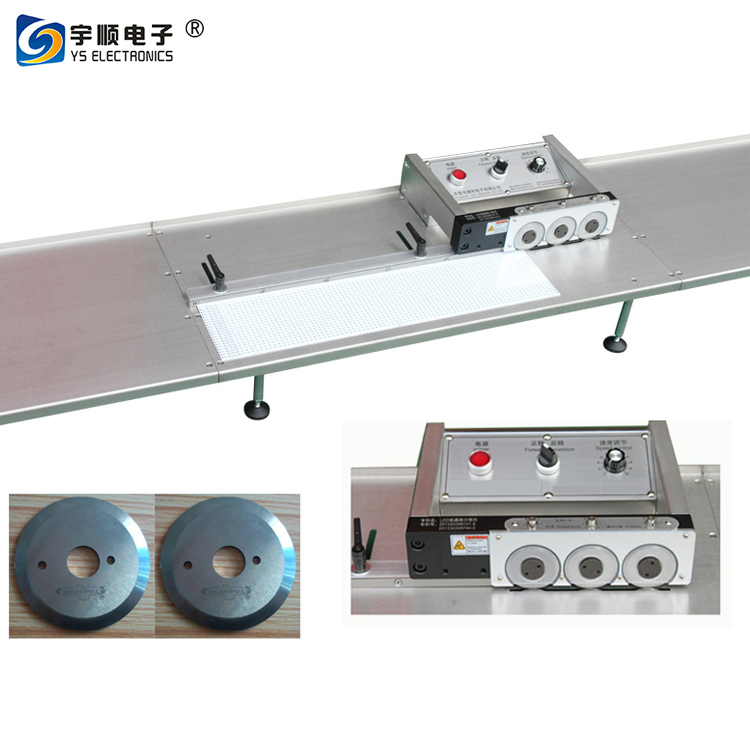 V Cut PCB Depanel Circuit Board Cutter for Aluminum Board/Aluminum PCB Depaneling Machine/PCB Depanler-YSVC-3A,Buy Multi Blades Depaneling,Pcb Boards Depaneling,Led Pcb Cutting Machine Product on pcbcuttingmachine.com